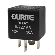 0 727 63 durite 12v 30a relay make and break resistor relays