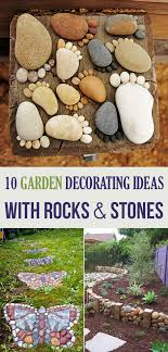 Garden Decoration Ideas Garden Decorating Ideas With Rocks And Stones