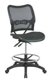 amazon deluxe drafting chair with air grid seat and back stool