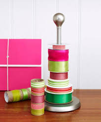 wrapping ribbon gift wrap organization how to organize wrapping paper