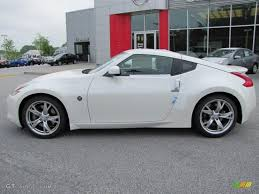 nissan sport coupe pearl white 2011 nissan 370z sport coupe exterior photo 48416536
