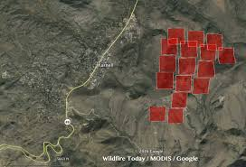 Wildfire In Arizona Kills 19 by Arizona Tenderfoot Fire Causes Evacuations In Yarnell U2013 Wildfire