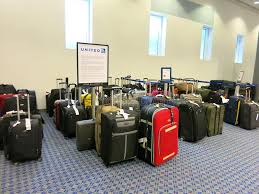 united airlines how many bags lost bags at united airlines luggage counter editorial stock image