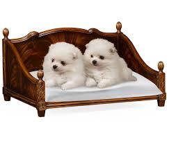 veneer four poster dog bed