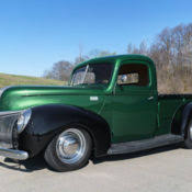 1940 Ford Pickup Interior 1940 Ford 2dr Sedan Black W Red Interior For Sale Photos