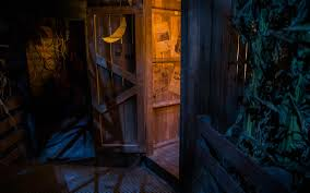 halloween horror nights islands of adventure universal orlando close up four horrific original houses