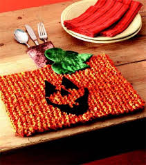 place mats to knit for your autumn table u2013 grandmother u0027s pattern book