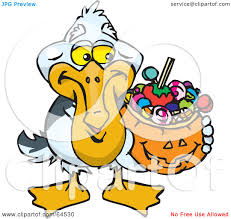 clipart of halloween royalty free rf clipart illustration of a trick or treating