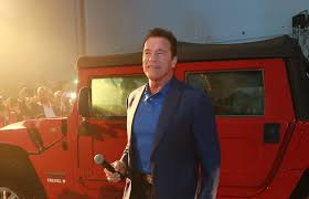 electric jeep conversion arnold schwarzenegger u0027s dream of an electric hummer h1 comes true
