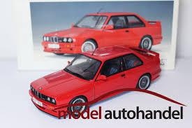 Bmw M3 Sport - autoart bmw m3 sport evolution e30 red modelcartrade com