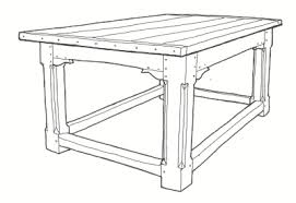 what exactly is a refectory table do they actually exist