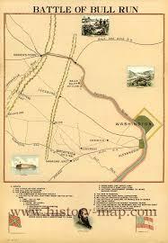 Run Map Battle Of Bull Run