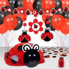 lady bug birthday party decorations ladybug centerpieces and