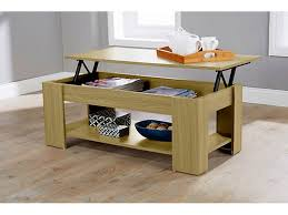 Uk Coffee Tables Caspian Lift Top Coffee Table With Storage Shelf Espresso