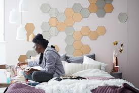 bedroom update create a diy fabric tape headboard decorate with