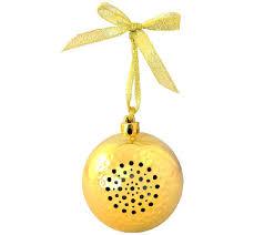 tree jingle ornament bluetooth speaker page 1 qvc