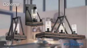 Kichler Lighting Chandelier by Kichler Lighting Colerne Collection Youtube