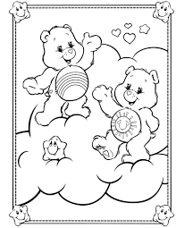care bears 12 coloringcolor