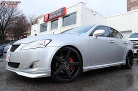 lexus is250 niche wheels lexus is 250 kmc km685 district wheels satin black