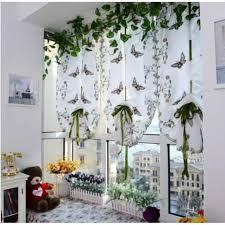rideaux pour cuisine moderne moderne pastorale tulle fenêtre rideau brodé voile voilages