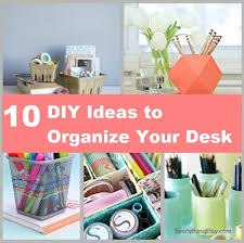 Desk Organization Ideas Diy Interior Diy Desk Organization Ideas Children Desks And Chairs