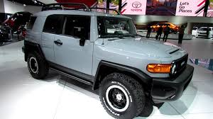 toyota fj 2013 toyota fj cruiser trail teams exterior and interior