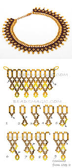 sted necklaces 3302 best beadwork wire images on necklaces