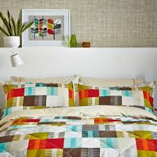 scion navajo mulitcoloured patterned bedding at bedeck 1951