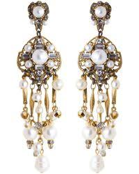 pretty woman earrings lyst shop women s erickson beamon earrings from 270 page 2