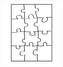 print out these medium sized printable puzzle pieces on white or