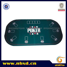 folding oval poker table china 3 folding oval poker table top for 9 person sy t10 china