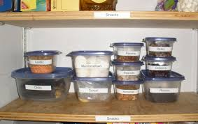 organize your pantry with the thanksgiving leftover containers