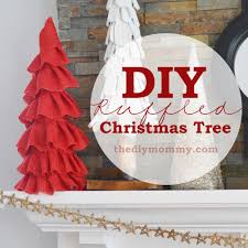 make a ruffled burlap christmas tree cone our vintage woodland