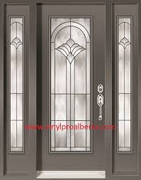 Exterior Doors Discount Cheap Entry Doors With Side Lights Steel Entry Door With 2