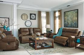 austere power reclining sofa austere brown power reclining living room set from ashley 3840081