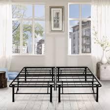 Floor Bed Frame Premier 14 High Profile Platform Metal Base Foundation Bed Frame