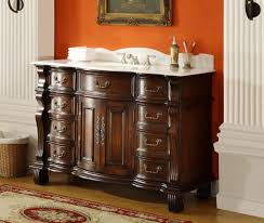 Country Style Bathroom Vanity Amazing Country Style Bathroom Vanities With Undermount Round Sink