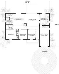 dimensioned floor plan mediterranean style house plan 3 beds 2 00 baths 1320 sq ft plan