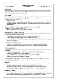 chemical operator resume resume format for chemical engineer assistant financial controller