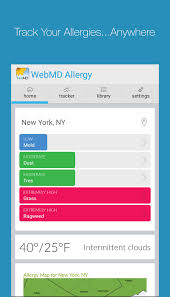 Allergy Map Webmd Allergy Android Reviews At Android Quality Index