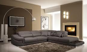 canap gris fonc salon avec canap gris fonc avec deco in canape d angle en cuir
