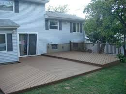 Backyard Flooring Ideas by 25 Best Ground Level Deck Ideas On Pinterest Wood Patio Simple