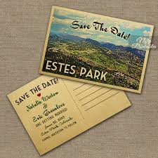 postcard save the date estes park save the date postcards printable estes park