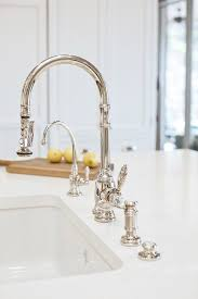 kitchen faucet nickel polished nickel lita pull kitchen faucet gt529 smd within