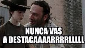 Carl Walking Dead Meme - si los memes hablaran the walking dead caaaaarl youtube