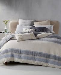 What Is A Sham For A Bed Hotel Collection Linen Stripe Bedding Collection Created For