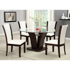 Glass Dining Room Sets On Hayneedle Round Glass Dining Table - Glass dining room table set