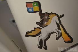 Redmond Campus Microsoft Is Now Selling Its Windows Ninja Cat Sticker The Verge