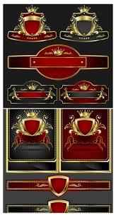 Luxurious Decorative Element Labels Free Stock Vector Art U0026 Illustrations Eps Ai Svg Cdr