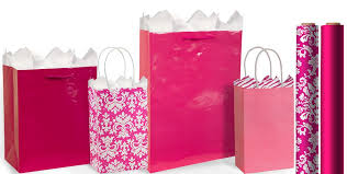 pink gift bags bright pink gift bags gift wrap party city